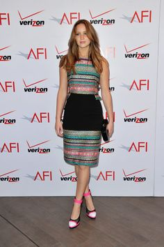 Jennifer Lawrence wore Prabal Gurung at the 13th annual AFI Awards in Beverly Hills.