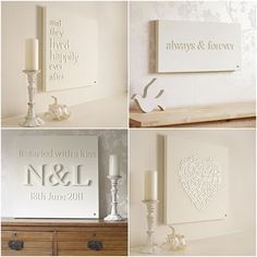 diy word wall art | DIY Project: Canvas Wall Art | One Hitched Lane    Love the heart shape