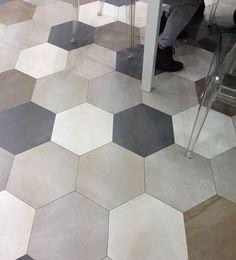 Céragrès - DOMUS hex tile for the floow