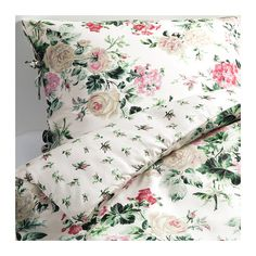 EMMIE BLOM Duvet cover and pillowcase(s) IKEA Satin-woven lyocell gives bedlinens a soft, silky feeling and lustre.