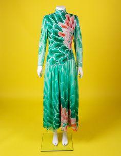 XL uomo anni 70 DISCO A ZAMPA CAMICIA HIPPIE HIPPY 1970s Costume vestito M