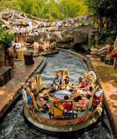 No. 23 Disney's Animal Kingdom, Walt Disney World Resort, Lake Buena Vista, FL    Annual Visitors: 9,686,000