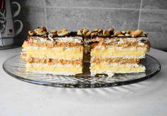 Snickers Bez Pieczenia Vanilla Cake, Tiramisu, Baking, Ethnic Recipes, Desserts, Food, Vanilla Sponge Cake, Bread Making, Meal