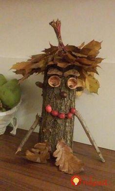 Autumn leaves - creative decoration and handicraft ideas - house decoration more - Ü Ei - Autumn leaves – creative decoration and craft ideas # chestnuts children - Acorn Crafts, Pine Cone Crafts, Pumpkin Crafts, Wood Crafts, Diy And Crafts, Autumn Crafts, Autumn Art, Nature Crafts, Autumn Leaves