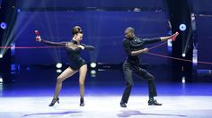 Malene Ostergaard and Stanley Glover perform a Broadway routine choreographed by Spencer Liff. See more: http://fox.tv/1nerZ73