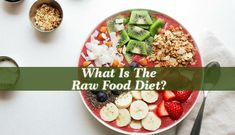 What Is The Raw Food Diet? - A raw food diet is based on foods that have little caloric intake, but high fiber content; the plan rests on eating raw food