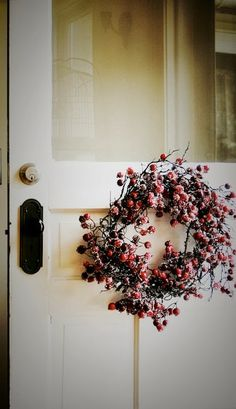 Lake & Co.: rustic holiday wreath