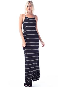 Ikat strapless maxi dress