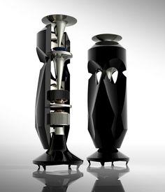 OMNI - Future Sound Speakers by NT Design Studio, via Behance