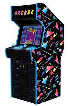 Kit Bartop, Bartop Arcade, Aesthetic Japan, Retro Aesthetic, Lan House, Borne Arcade, Retro Arcade Games, Video Vintage, Street Game