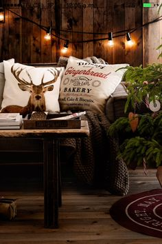 H & M Home Christmas Style...so cozy!