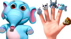 Wild Animal Sounds Finger Family | 3D Nursery Rhymes For Children | Nurs... Baby Songs, Kids Songs, Wild Animal Sounds, Nursery Rhymes Songs, Finger Family, Rhymes Collection, Piggy Bank, Kindergarten, How To Memorize Things