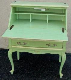Nicole Wood Interiors: SOLD!!! Vintage French Bonnet Secretary Desk!!!!