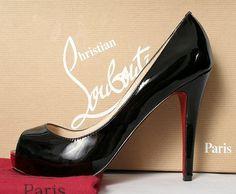 Christian Louboutin Zapato de barco rosa