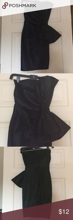 Dress A black dress that works well for any nice occasion such as homecoming, weddings and such Body Central Dresses Strapless