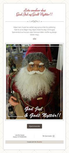 Leto ønsker deg  God Jul og Godt Nyttår!!