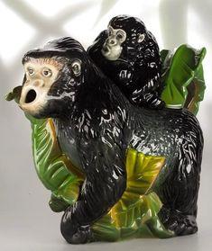 Gorilla Teapot