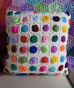 Ravelry: Hazo's Cobblestone Square Cushion