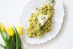 Zucchini, Grains, Rice, Food, Vegetarian Recipes, Food Food, Essen, Meals, Seeds
