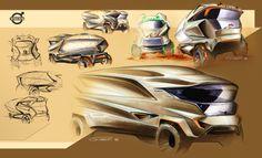 Volvo Truck concept - sketch 1 Marco Gianotti