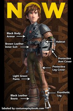 Hiccup Part 2 How to Train your Dragon breaks down the costumes and where to buy most of the pieces.