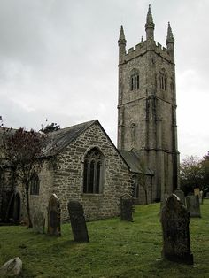 Brevita, Lanlivery, Cornwall, England ~ c. Uk History, Cathedral Church, Old Churches, London England, England Uk, Medieval Castle, Place Of Worship, English Countryside, Beautiful Places To Visit