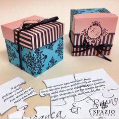 #convites #quebra-cabeça #wedding #convitesdecasamento #casamento #noiva #diferente #wedding #top #brasão #monograma  http://spazioconvites.com.br/loja/