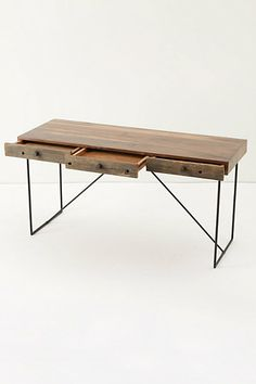 see if my hubby can make me this anthro table.. for sewing!