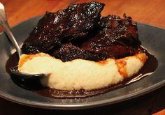 MoVida | Carrillera de Buey- Slowly Braised Beef Cheek in Pedro Ximenez on Cauliflower Puree