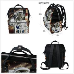 036157bcaab3 Casual Backpack Multipurpose School Bag Top Open Laptop Work Daypack Doctor  Style Canvas Bookbag Jansport Large