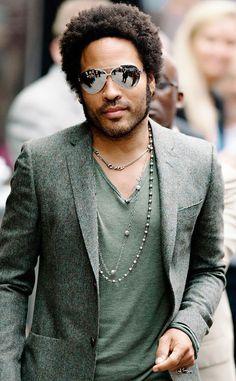 Lenny Kravitz rocking shades! #optometry