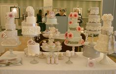 Vintage Chic Wedding Fair by Cotton and Crumbs, via Flickr