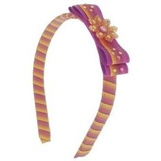 Tarina Tarantino  Fashion Couture  Ombre Collection  Ombre RibbonWrapped Headband wBow  Amber HB03U9210 ** You can find out more details at the link of the image.(This is an Amazon affiliate link and I receive a commission for the sales)