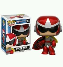Funko POP! Mega Man: Proto Man - Stylized Video Game Vinyl Figurine 104 NEW