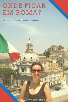 Dicas dos melhores bairros para se hospedar em Roma #roma #rome #italia #italy #hospedagem #europa #ondeficar