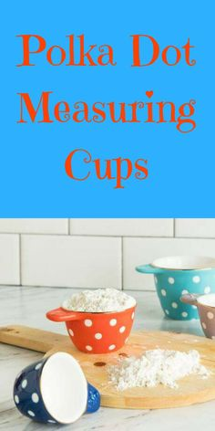 Loving these adorable Polka Dot Measuring Cups Home Interior Accessories, Measuring Cups, Own Home, Decorating Tips, Farmhouse Decor, Bedroom Decor, Polka Dots, Tableware, Kitchen