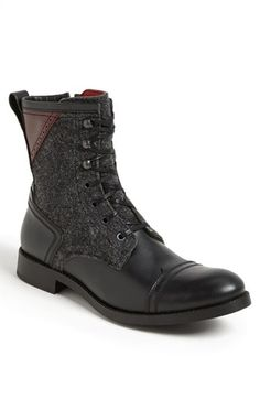 Kenneth Cole New York 'Brush It Off' Cap Toe Boot.