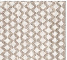 Diamond Wool Rug - Ivory | Pottery Barn