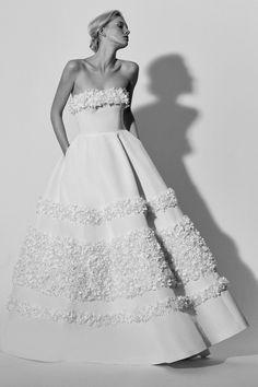 Carolina Herrera Bridal Spring 2018 Fashion Show