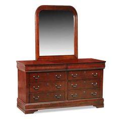 claremont dresser mirror set originally purchased from ashley furniture
