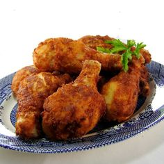 Crusty Farm-Style Fried Chicken