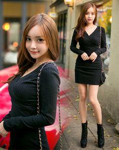AROOKI [5.스커트] Korean Online Shopping, Fashion Women, Fashion Beauty, Korean Dress, Korean Fashion, Pin Up, Beautiful Women, Dresses, Women's Work Fashion
