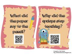 May QR Code Riddles Freebie - The Techie Teacher®