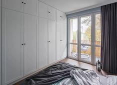 Bedroom Built In Wardrobe, Walk In Wardrobe, Wardrobe Design, Canopy Curtains, Pink Curtains, Hinged Wardrobe Doors, Built In Robes, Layered Curtains, Wardrobe Solutions