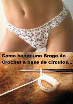 How hacer con Bragas Circles Crochet - Crochet Patrones