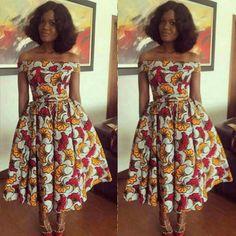 African dress, Ankara dress, Ankara gown, African print gown, Short dress, African dresses for women