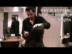 brazilian hair blow dry hair straightener - Bing video