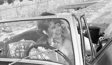 """POSTER Wenche Myhre Tar forerkort og kjoper ny MG """"midget"""" februar 1965 Foto: La"""