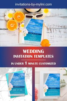 No wedding is complete without a wedding invitation. Our cheap wedding invitation templates can be easily adapted to the motto of your event and give your guests the first insight into your wedding theme. This is why you should afford to make your wedding invitations special. Are you already looking for wedding invitation designs? Here you will find the latest trends with which you can plan your big day. Don`t delay speaking to us for custom orders and special designs.