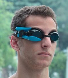 Instabeat  A swimming monitor mounted on your goggles that tracks, stores, and displays instant feedback of your heart rate to reach your training goals.